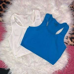 EUC two Red Fox large crop tops.